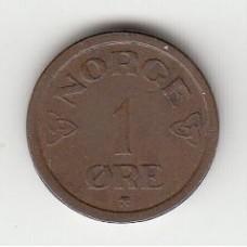 1 эре, Норвегия, 1957