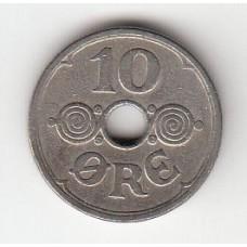 10 эре, Дания, 1929
