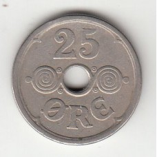 25 эре, Дания, 1930