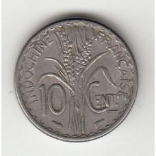 10 центов, Французский Индокитай, 1940