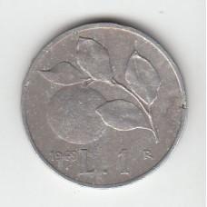 1 лира, Италия, 1949