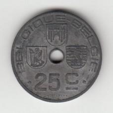 25 сантимов, Бельгия, 1946