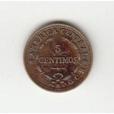 5 сентимо, Коста-Рика, 1938