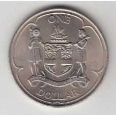 1 доллар, Фиджи, 1969
