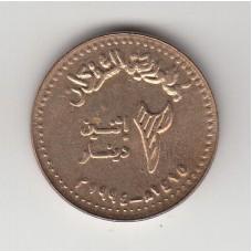 2 динара, Судан, 1994