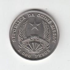 2000 песо, Гвинея-Бисау, 1995