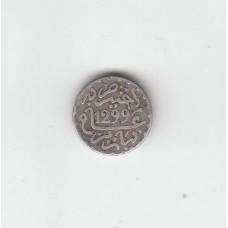 1/2 дирхама, Марокко, 1299