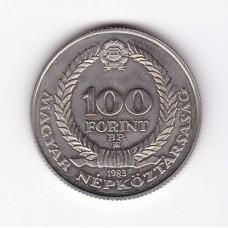 100 форинтов, Венгрия, 1983
