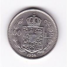 100 лей, Румыния, 1936