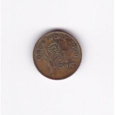 1 цент, Фиджи, 1978