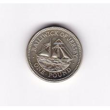 1 фунт, Джерси, 1998