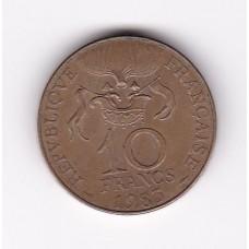 10 франков, Франция, 1983