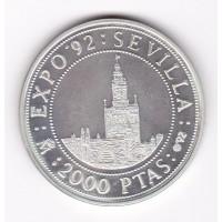 2000 песет, Испания, 1992
